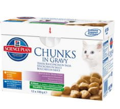 Hill's SP Feline Kitten Chicken & Fish 12x85 g