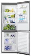 Zanussi ZRB 36101 XA Kombinált hűtőszekrény, 337 L