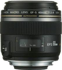Canon EF-S 60 Macro f/2,8 USM + 500 Kč na fotoslužby