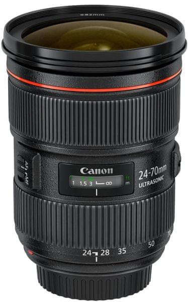 Canon EF 24-70mm f / 2.8 L II USM + 5000 Kč od Canonu zpět!