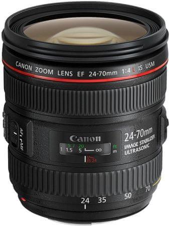 Canon objektiv EF 24-70mm 1:4,0 L IS USM