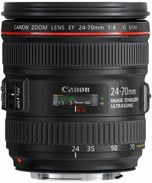 Canon EF 24-70mm f/4L IS USM - II. jakost