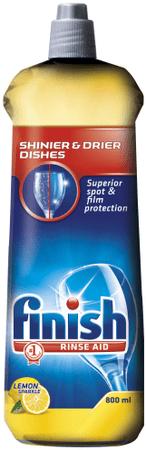Finish Loščilo Shine&Dry Limona 800 ml - odprta embalaža
