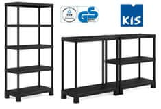 Kis regal Plus Shelf Tribac/5, PVC