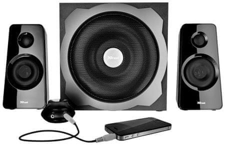 Trust głośniki Tytan 2.1 Subwoofer Speaker Set 19019