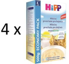 HiPP Mliečnoobilná prvá kaša pre kojenca 500g (3+1 zdarma)