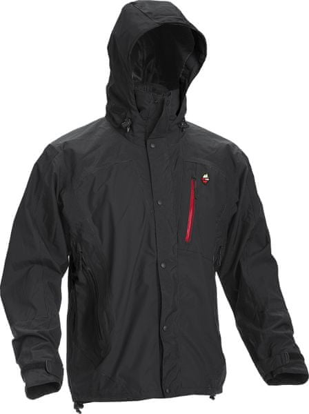 High Point Thunder Jacket black/red zip XXL