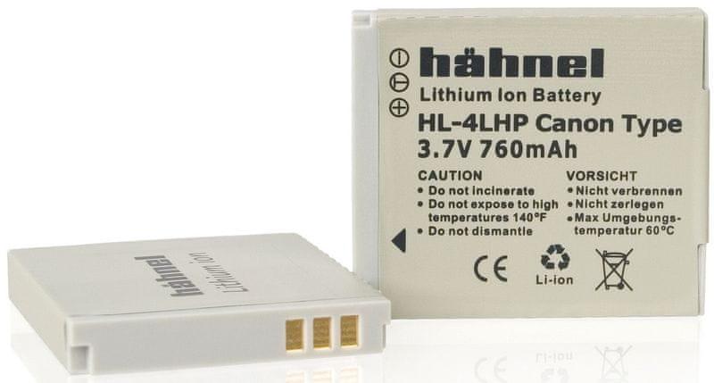 Hähnel NB-4L pro Canon