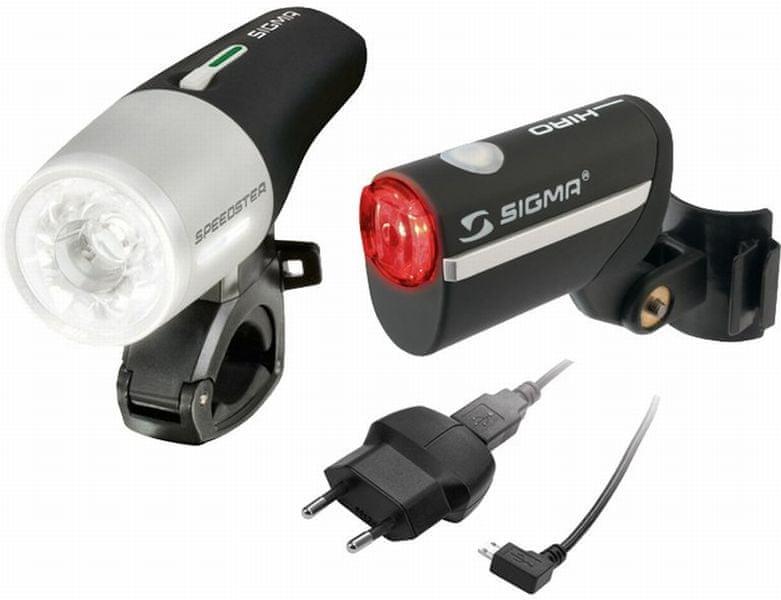 Sigma Speedster + Hiro set (vč.nabíječky, baterií)