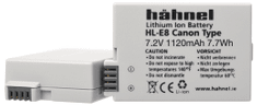 Hähnel baterija LP-E8 Canon (HL-E8)