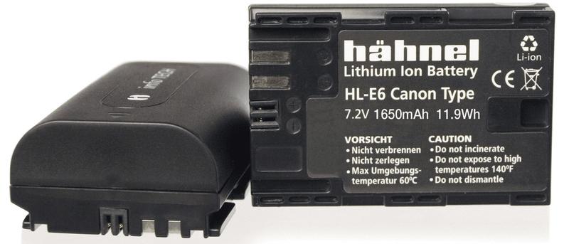 Hähnel LP-E6 pro Canon
