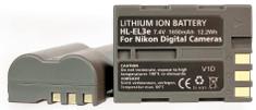 Hähnel baterija EN-EL3e Nikon (HL-EL3e)