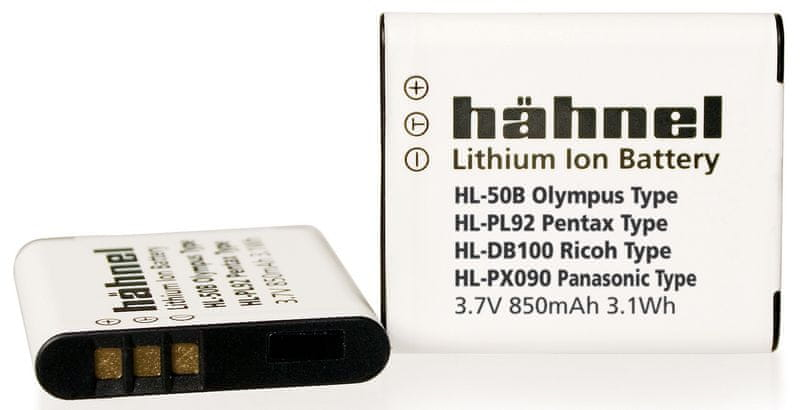 Hähnel LI-50B pro Olympus