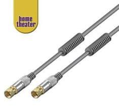 Home Theater Satelitní anténní kabel M/M, 1,5 m