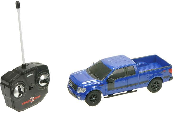 Mikro hračky R/C 1:26 Ford F-150, niebieski