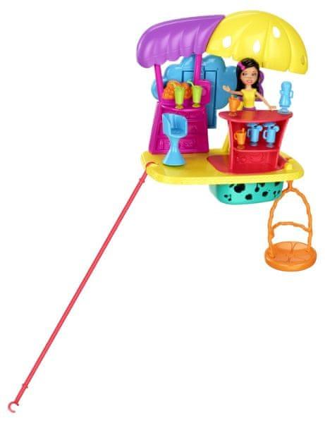 Mattel Polly Pocket Základní sada na zeď, Džusový bar