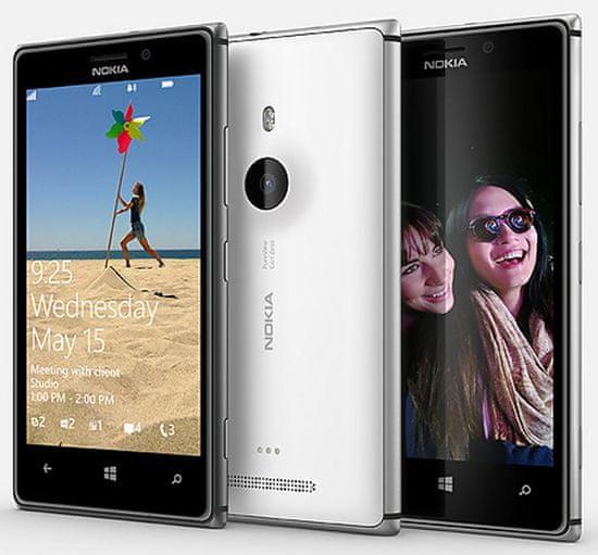 Nokia Lumia 925 White + bezdrátová nabíječka navíc