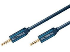 ClickTronic HQ OFC kábel Jack 3,5 mm stereo, M/M,10m