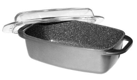 Stoneline posoda s steklenim pokrovom WX-7542