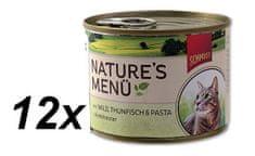 Schmusy Konzervy Nature´s Menü zvěřina+tuňák 12 x 190 g