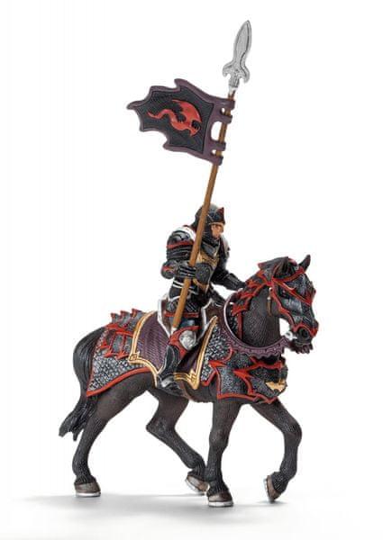 Schleich Rytíř s kopím na koni 70102