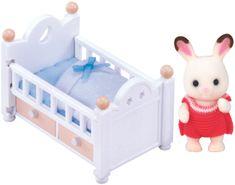 Sylvanian Families Baby králík v postýlce 2205