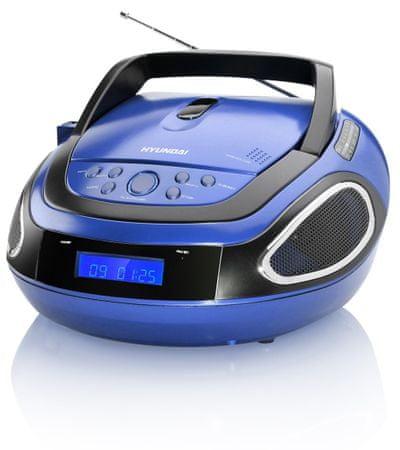 HYUNDAI TRC 512 AU3 Hordozható CD lejátszó, Kék