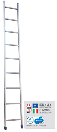 Facal enodelna lestev 1×8 (SL-08)
