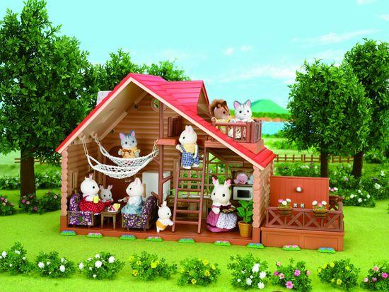 Sylvanian Families Hétvégi ház játék szett