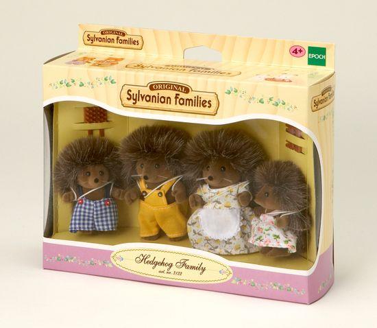 Sylvanian Families Družina ježkov