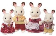 Sylvanian Families Rodina chocolate králikov