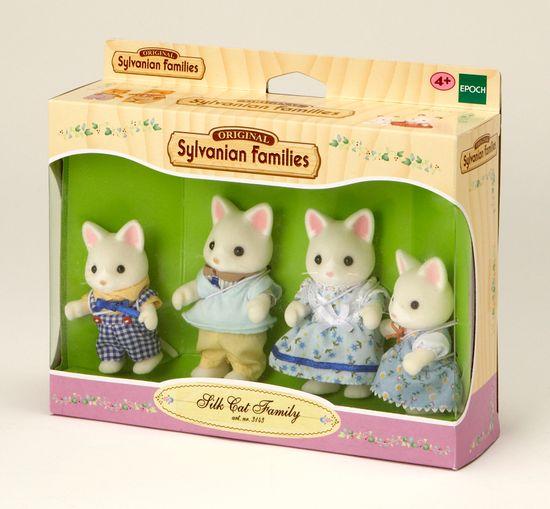 Sylvanian Families Družina svilenih mačk 3143
