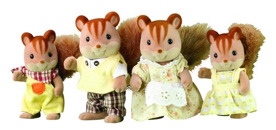 Sylvanian Families Družina rjavih veveric 3136
