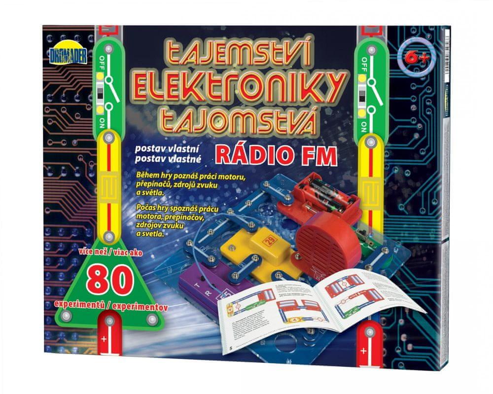 Teddies Tajemství elektroniky - Rádio 80 experimentů