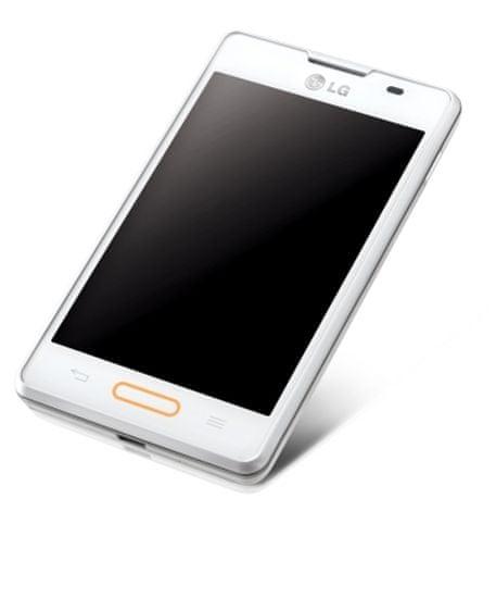 LG E440 Optimus L4 II, bílá