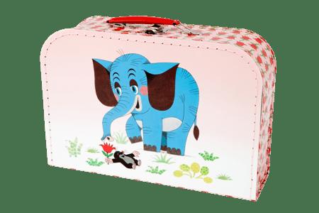 Teddies Kufřík Krtek a slon šitý
