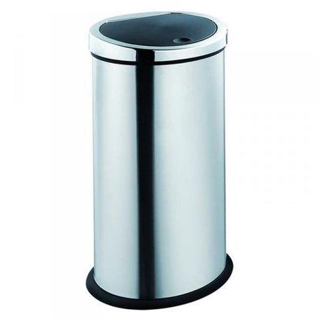 TORO Kosz na odpady, chrom, 30 L, 270403
