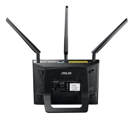 Asus RT-AC66U brezžični usmerjevalnik, AC1750, Dual Band, gigabit