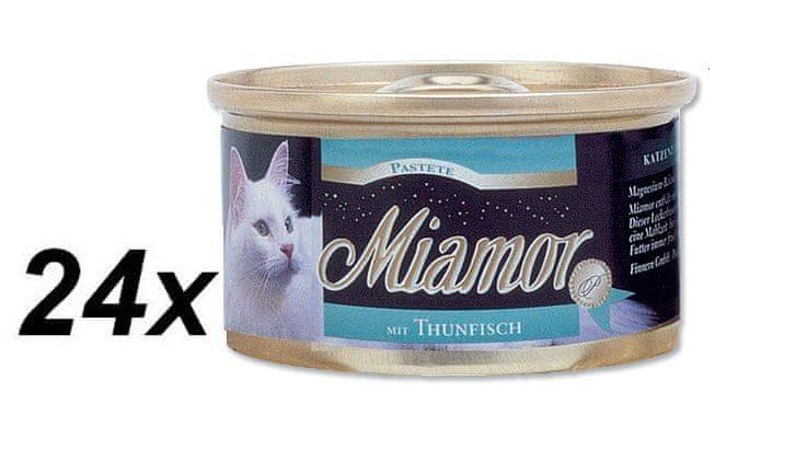 Finnern Paštika Miamor tuňák 24 x 85 g