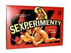 Teddies Sexperiment spoločenská hra pre dospelých v krabici
