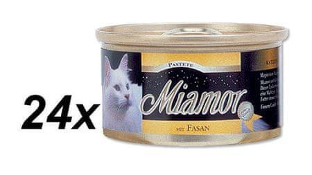 Finnern mokra karma dla kota Miamor bażant 24 x 85 g