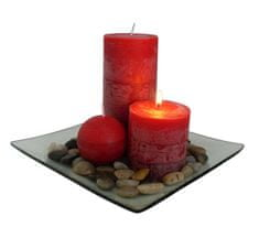 TORO Darčekový set 3 sviečky s vôňou škorice
