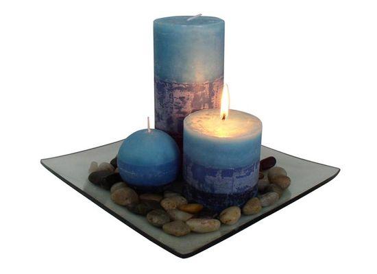 Toro darilni set 3 svečk z vonjem borovnic