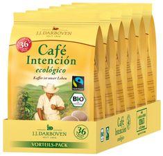 Café Intención ecológico FT&BIO Pads šest balení 36x7g