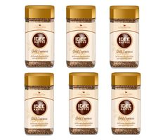 Idee Kaffee Gold Express Instant 6x100g sklo