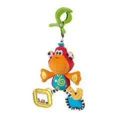 Playgro Wisząca małpa z klipsem