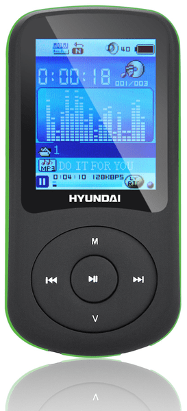 Hyundai MPC 401 FM / 2GB (Black/Green)