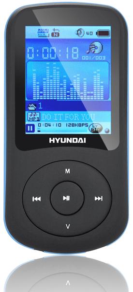 Hyundai MPC 401 FM / 4GB (Black/Blue)