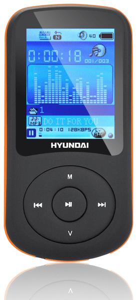 Hyundai MPC 401 FM / 8GB (Black/Orange)