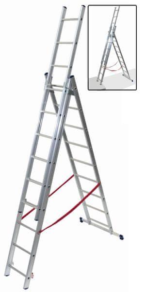 Facal 3x10, schodišťová úprava (SL290-3)